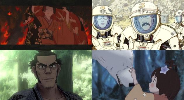 Fotogramas de los cuatro cortos